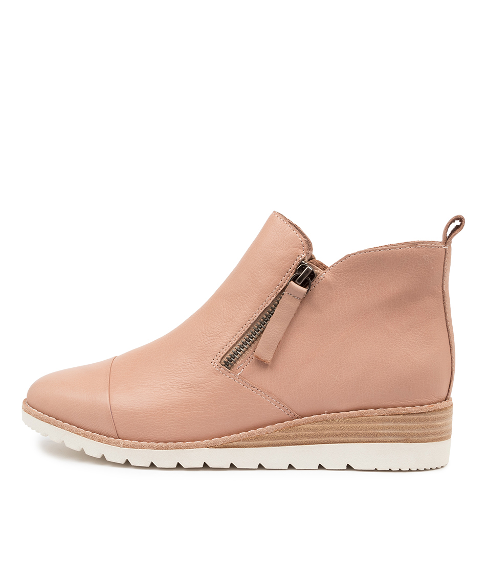 Buy Diana Ferrari Bycra Df Dk Nude Ankle Boots online with free shipping