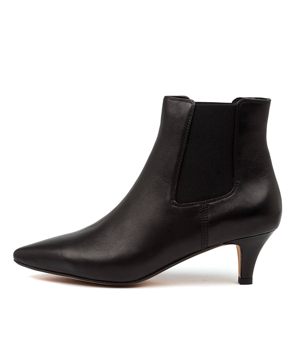Buy Diana Ferrari Choosi Df Black Dress Ankle Boots online with free shipping