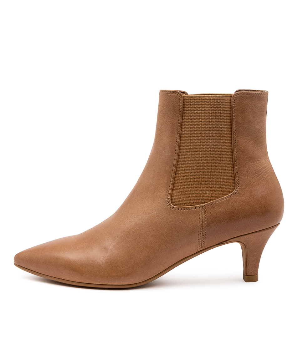 Buy Diana Ferrari Choosi Df Tan Dress Ankle Boots online with free shipping