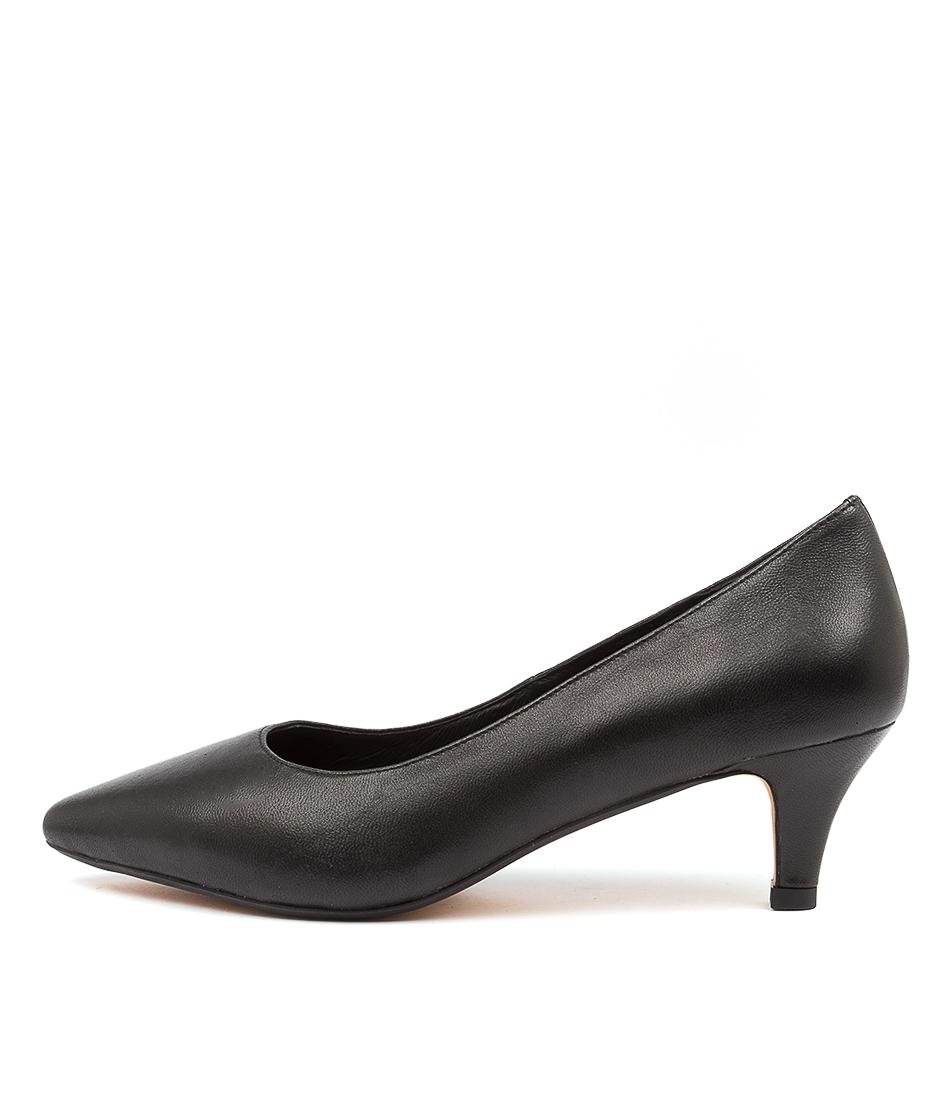 Buy Diana Ferrari Coday Df Black High Heels online with free shipping