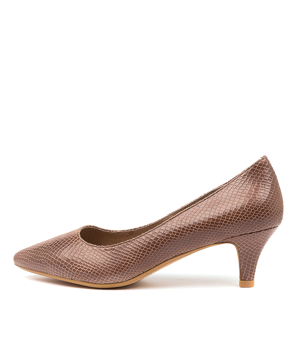 Buy Diana Ferrari Coday Df Mocca High Heels online with free shipping