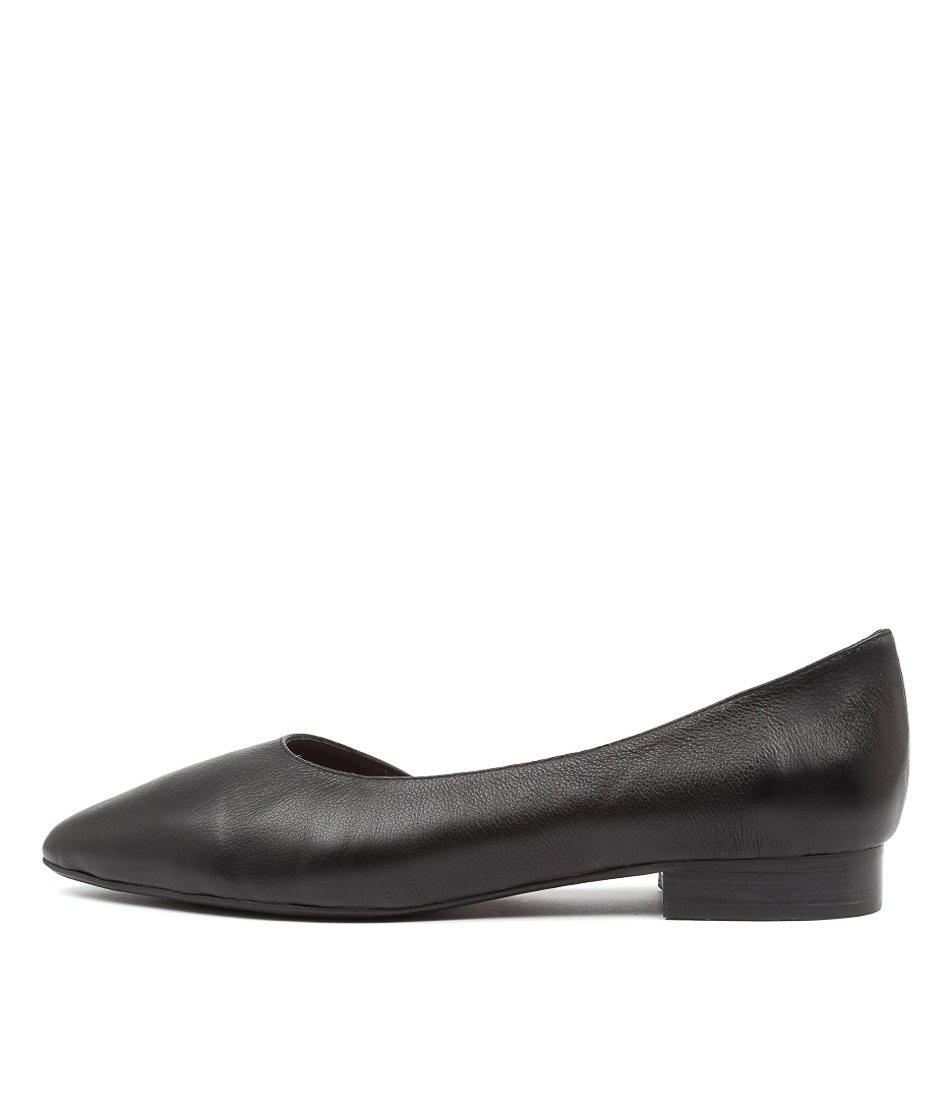 Buy Diana Ferrari Daballay Df Black Flats online with free shipping