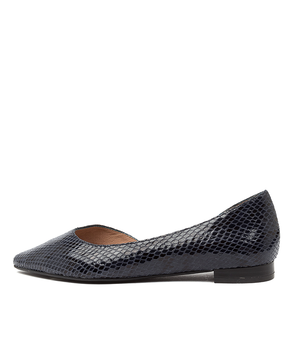 Buy Diana Ferrari Daballay Df Navy Flats online with free shipping