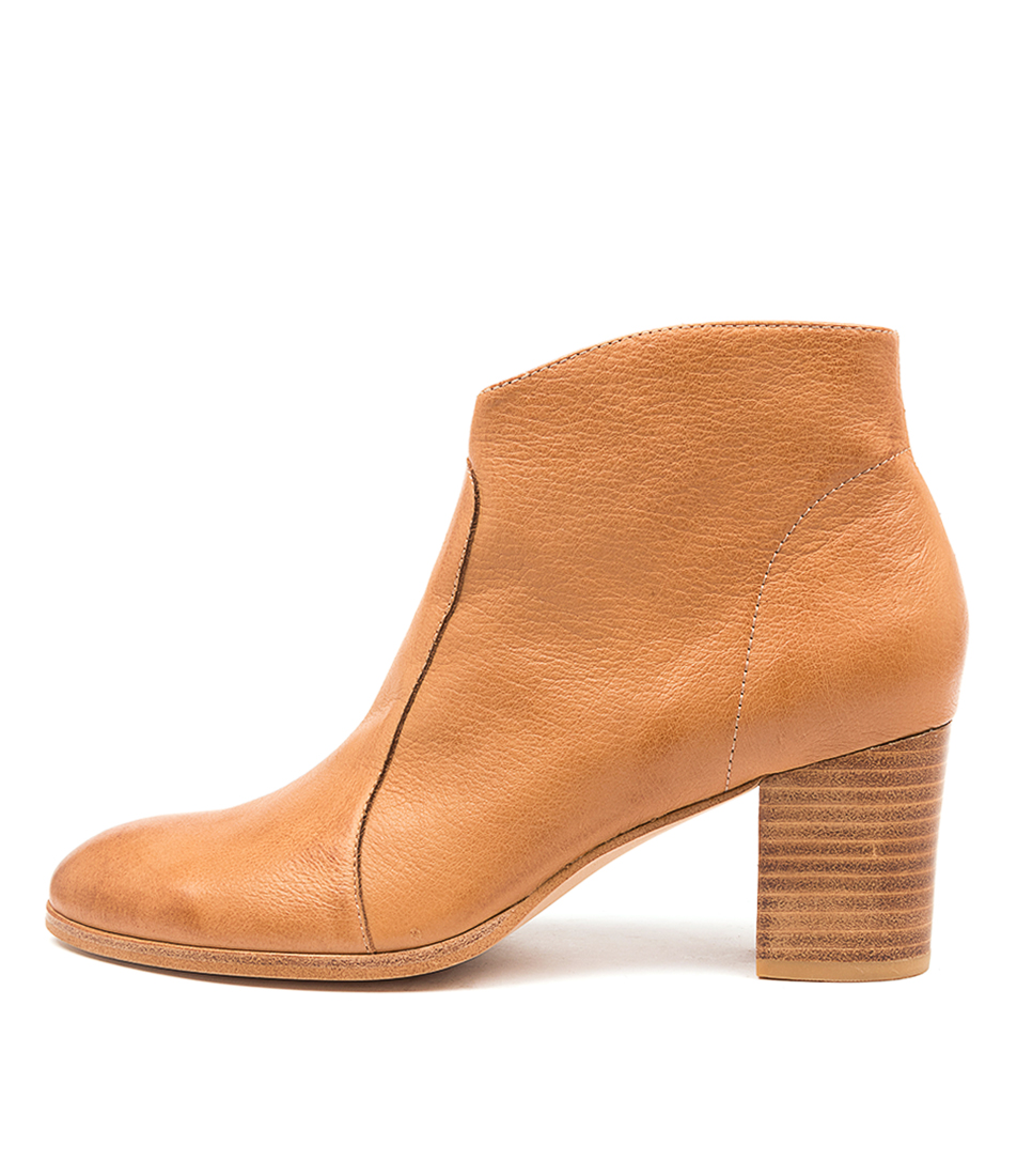 Buy Diana Ferrari Dabilo Df Dk Tan Ankle Boots online with free shipping