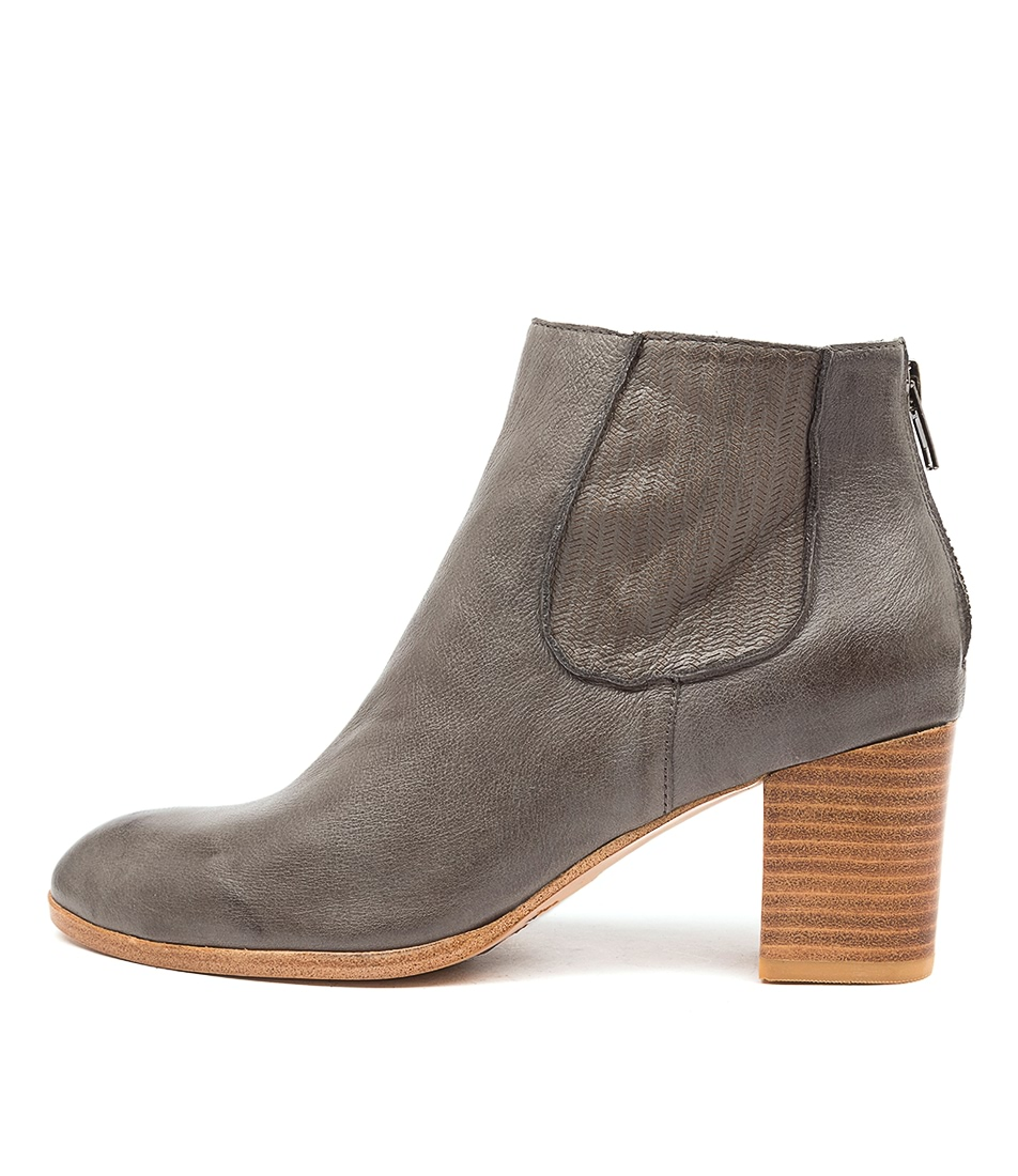 Buy Diana Ferrari Deight Df Charcoal Ankle Boots online with free shipping
