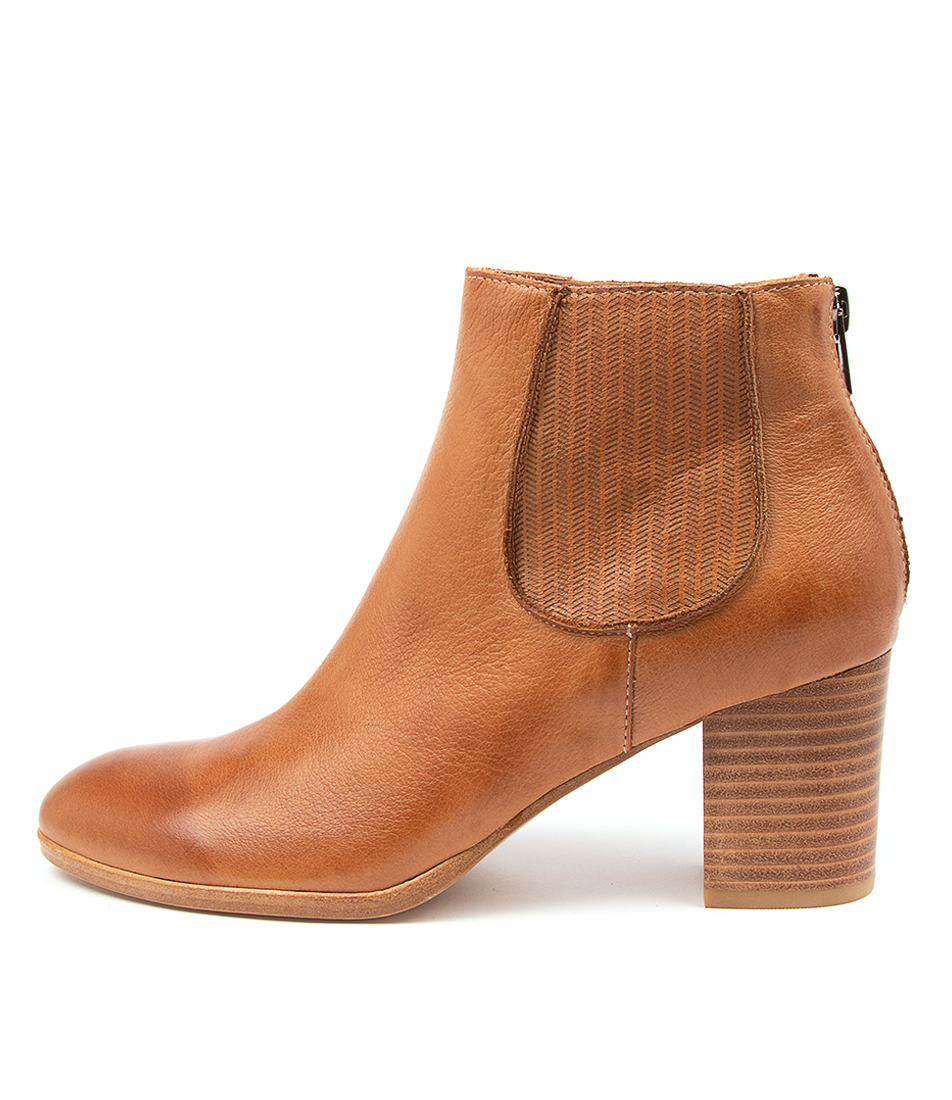 Buy Diana Ferrari Deight Df Dk Tan Ankle Boots online with free shipping