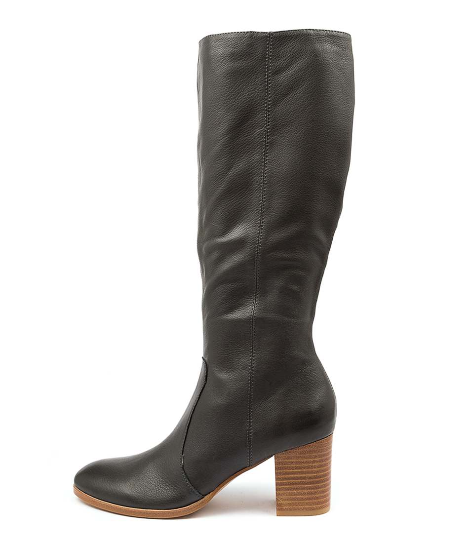 Buy Diana Ferrari Detee Df Charcoal Long Boots online with free shipping