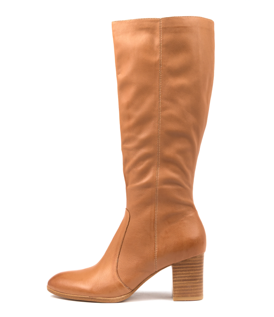 Buy Diana Ferrari Detee Df Dk Tan Long Boots online with free shipping