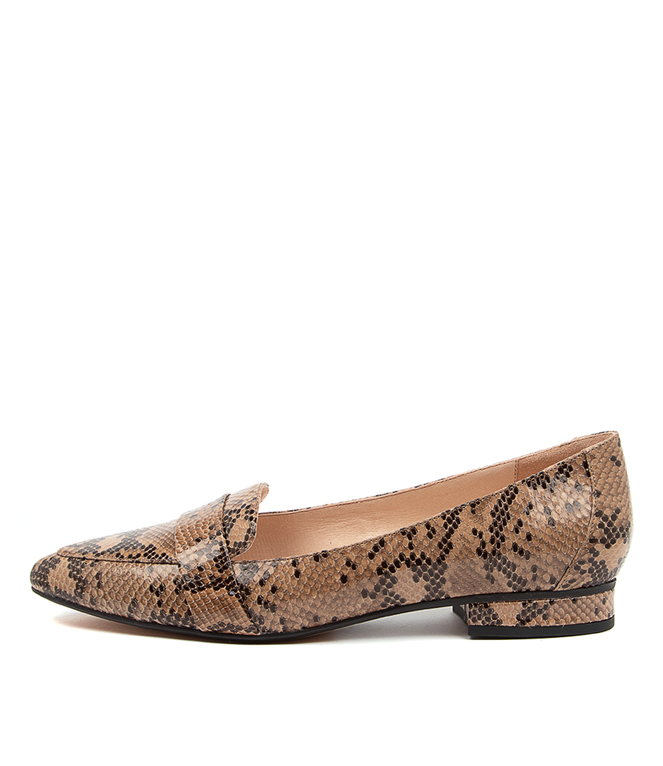 Buy Diana Ferrari Disolo Df Latte Flats online with free shipping