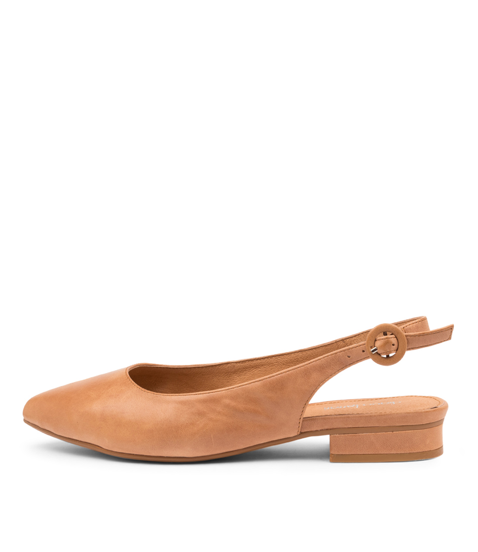 Buy Diana Ferrari Donomo Df Dk Tan Flats online with free shipping