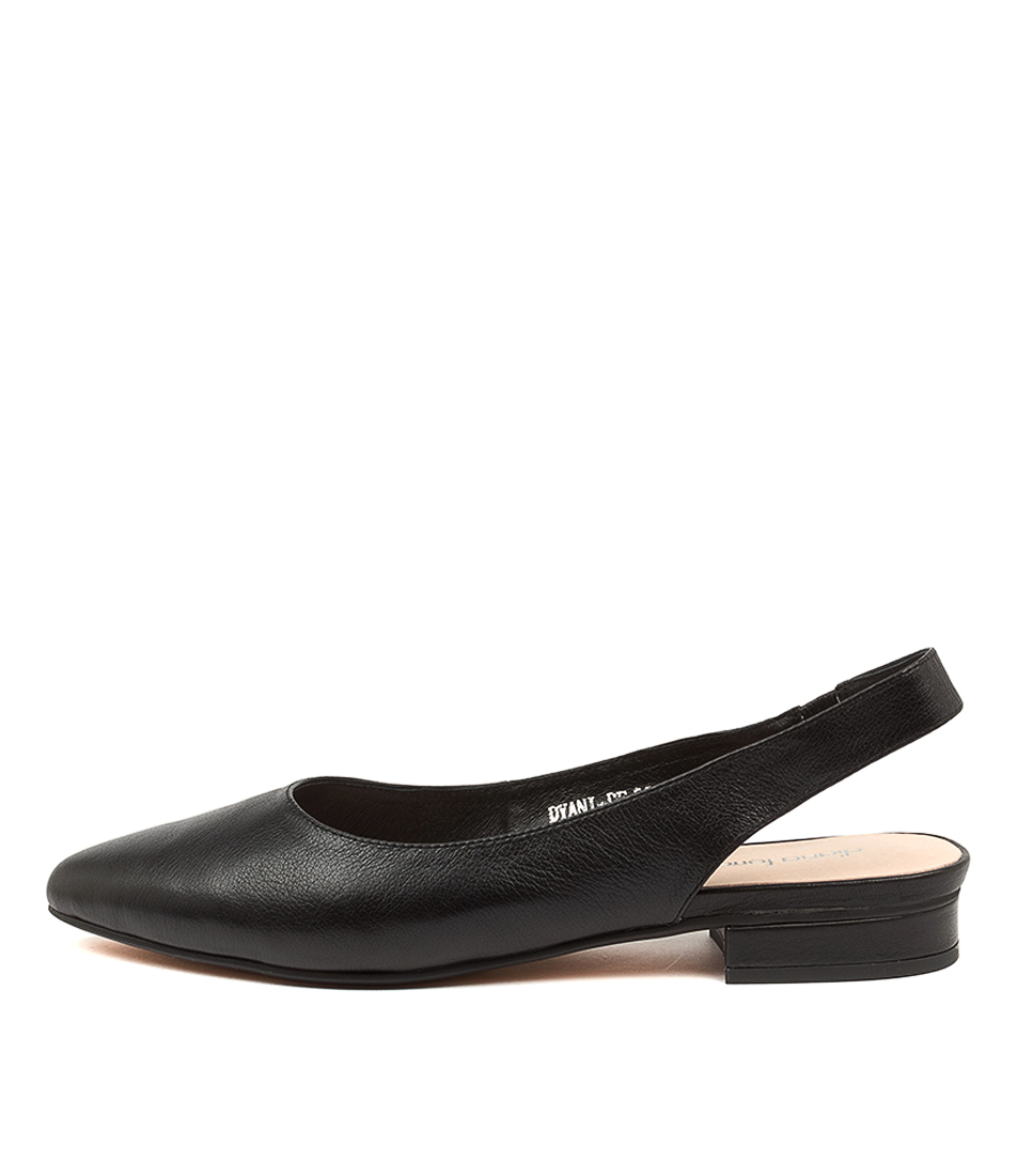 Buy Diana Ferrari Dyani Df Black Flats online with free shipping