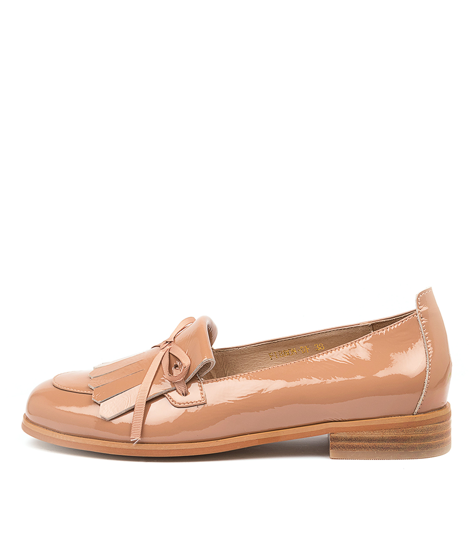 Buy Diana Ferrari Fibbon Df Dk Nude Flats online with free shipping