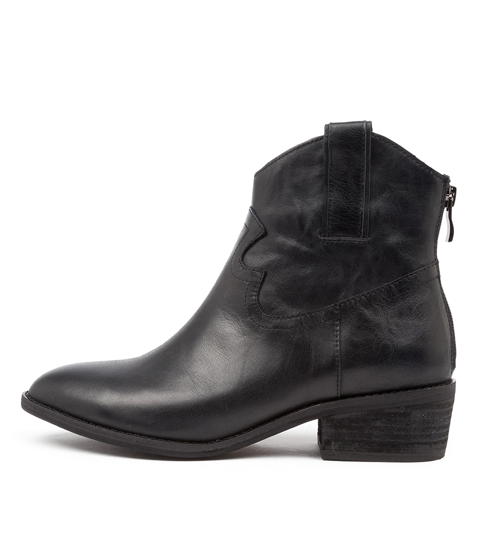 Buy Diana Ferrari Gifer Df Black Ankle Boots online with free shipping