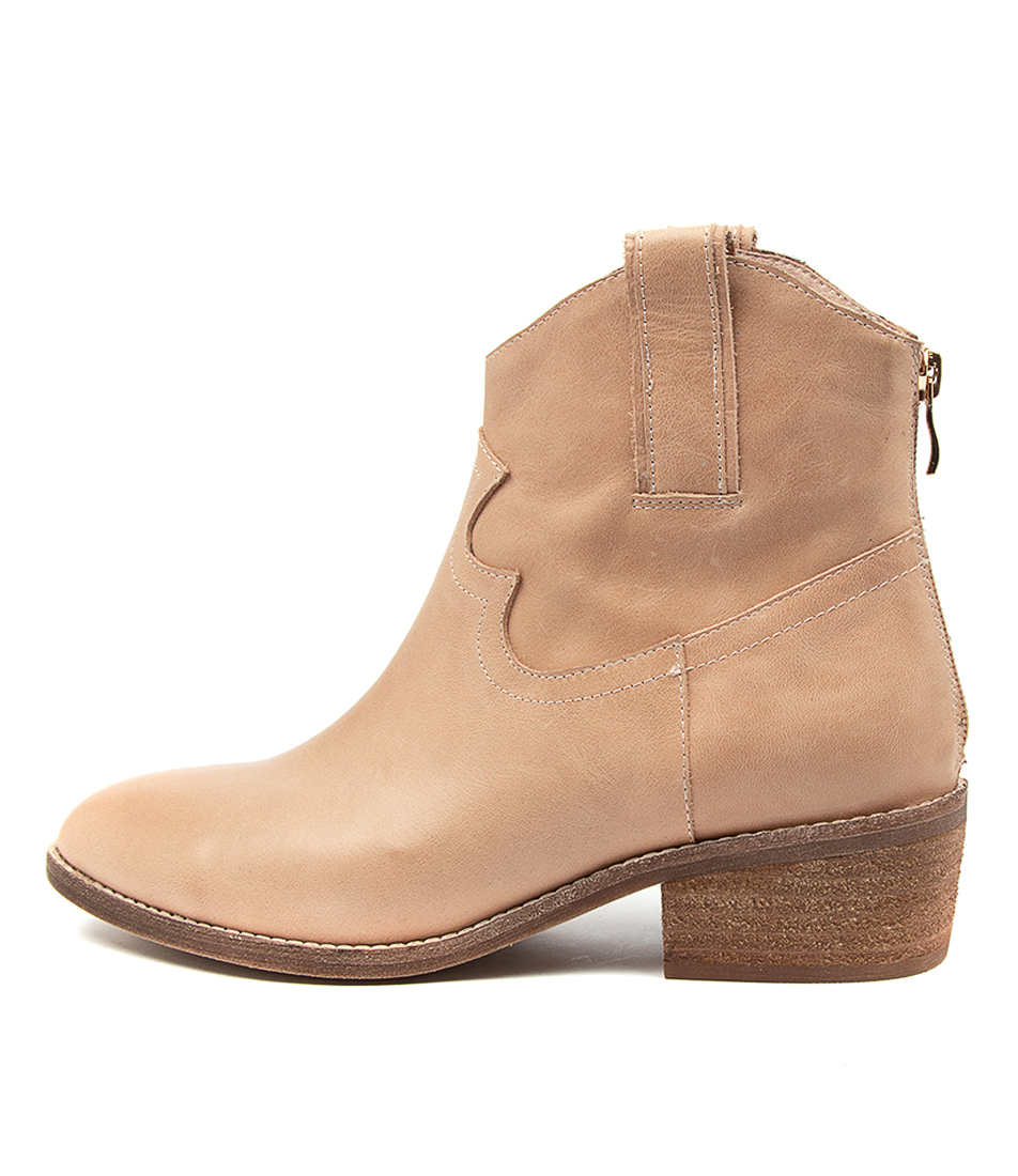 Buy Diana Ferrari Gifer Df Dk Nude Ankle Boots online with free shipping