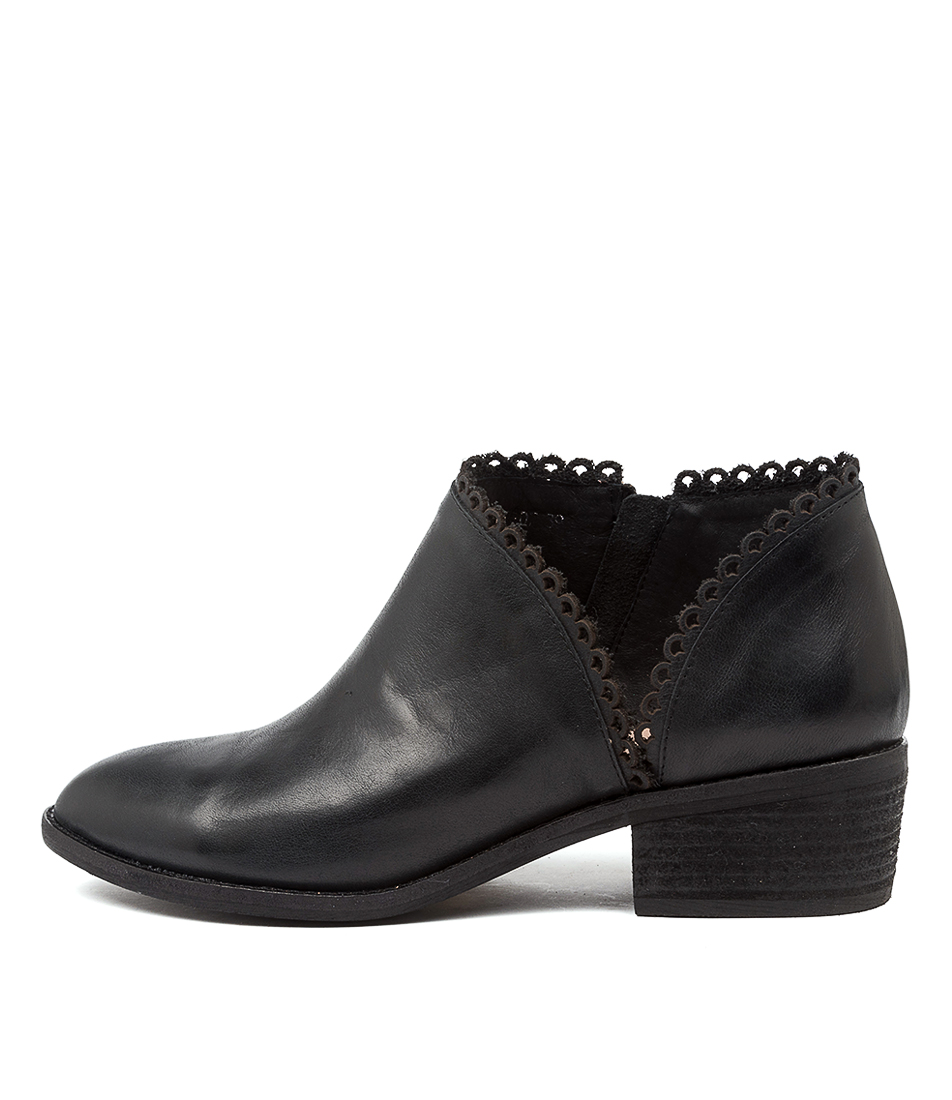 Buy Diana Ferrari Glaydie Df Black Ankle Boots online with free shipping