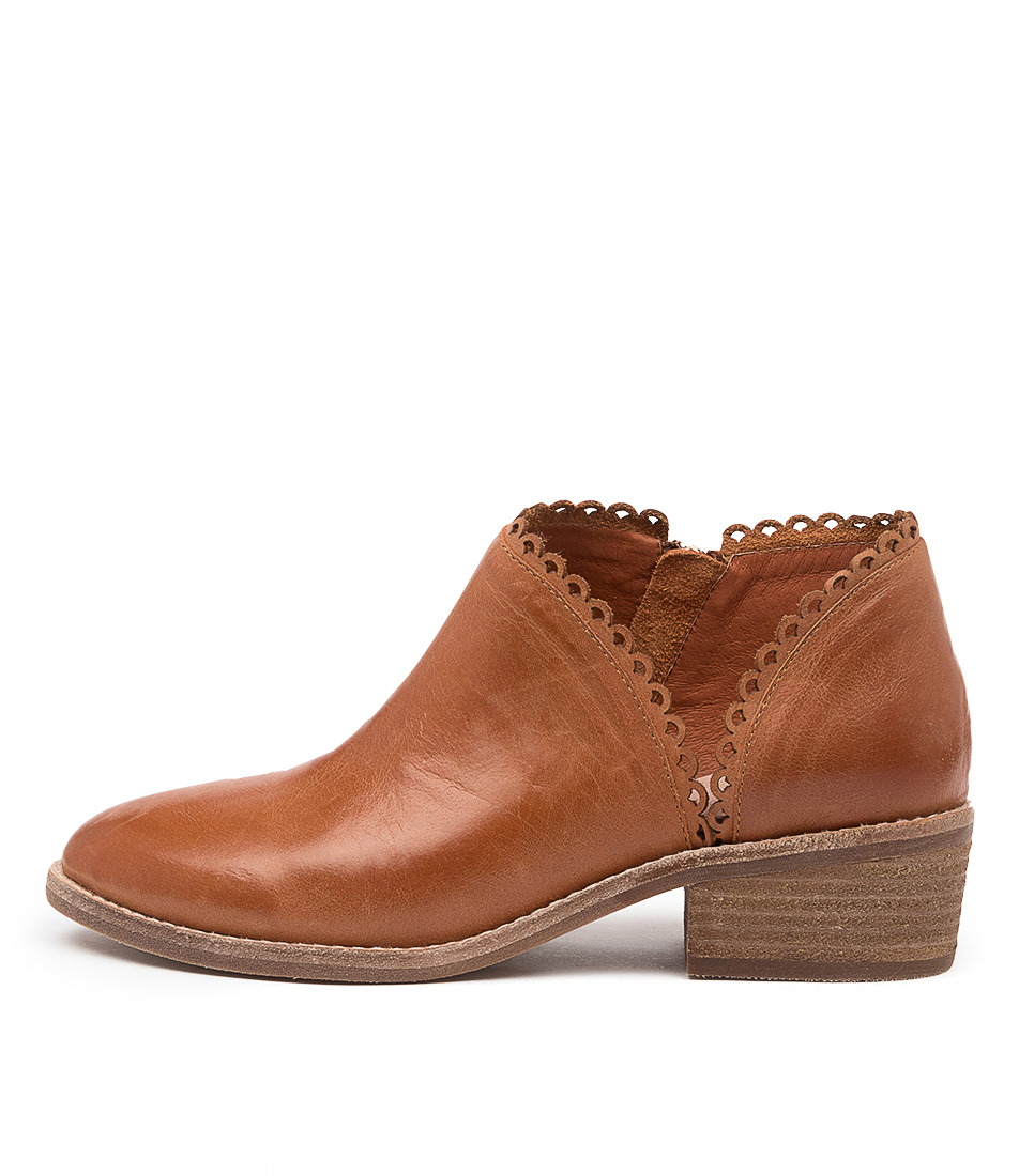 Buy Diana Ferrari Glaydie Df Cognac Ankle Boots online with free shipping