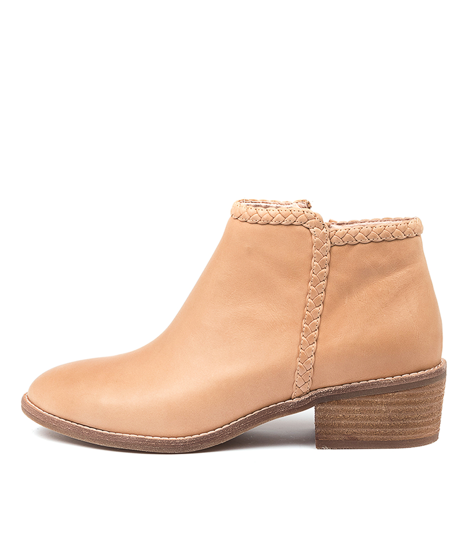 Buy Diana Ferrari Guyla Df Dk Nude Ankle Boots online with free shipping