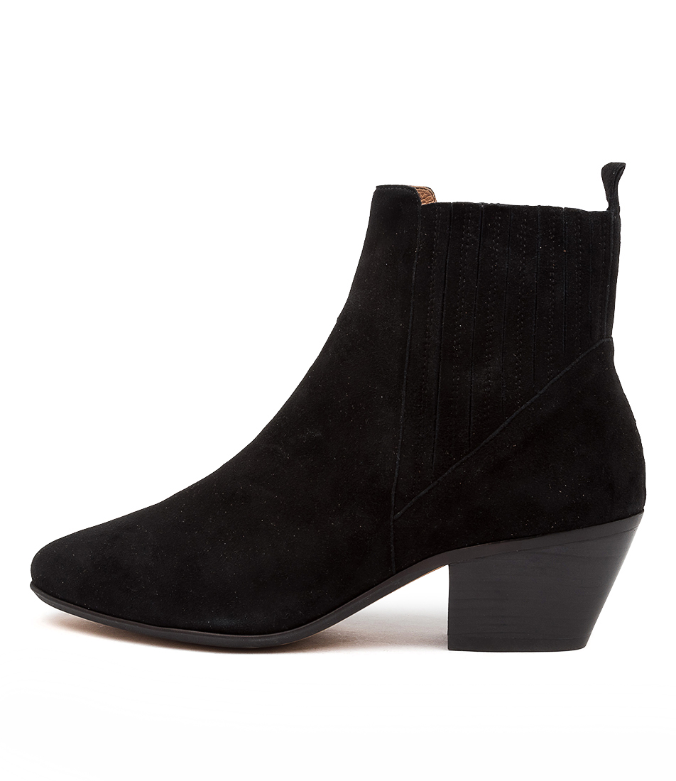 Buy Diana Ferrari Imbers Df Black Ankle Boots online with free shipping