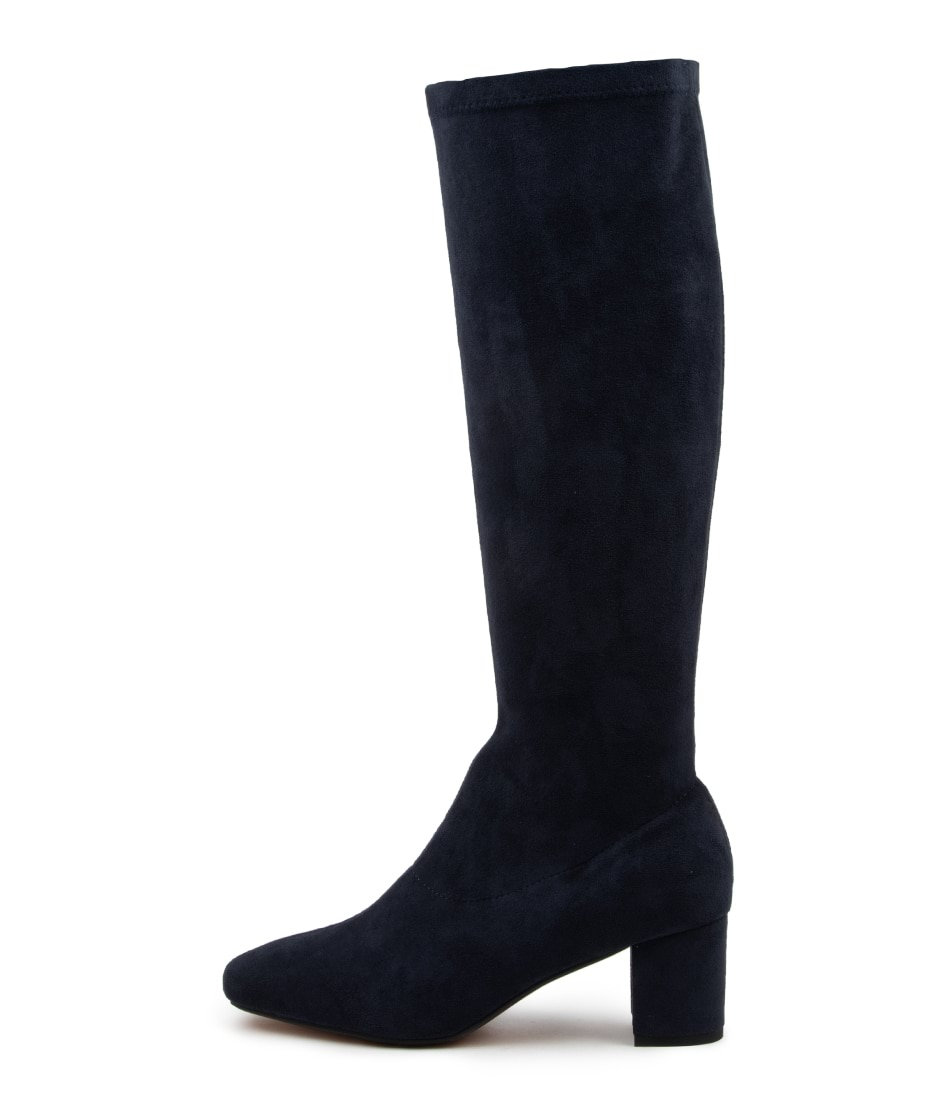 Buy Diana Ferrari Irossi Df Navy Long Boots online with free shipping