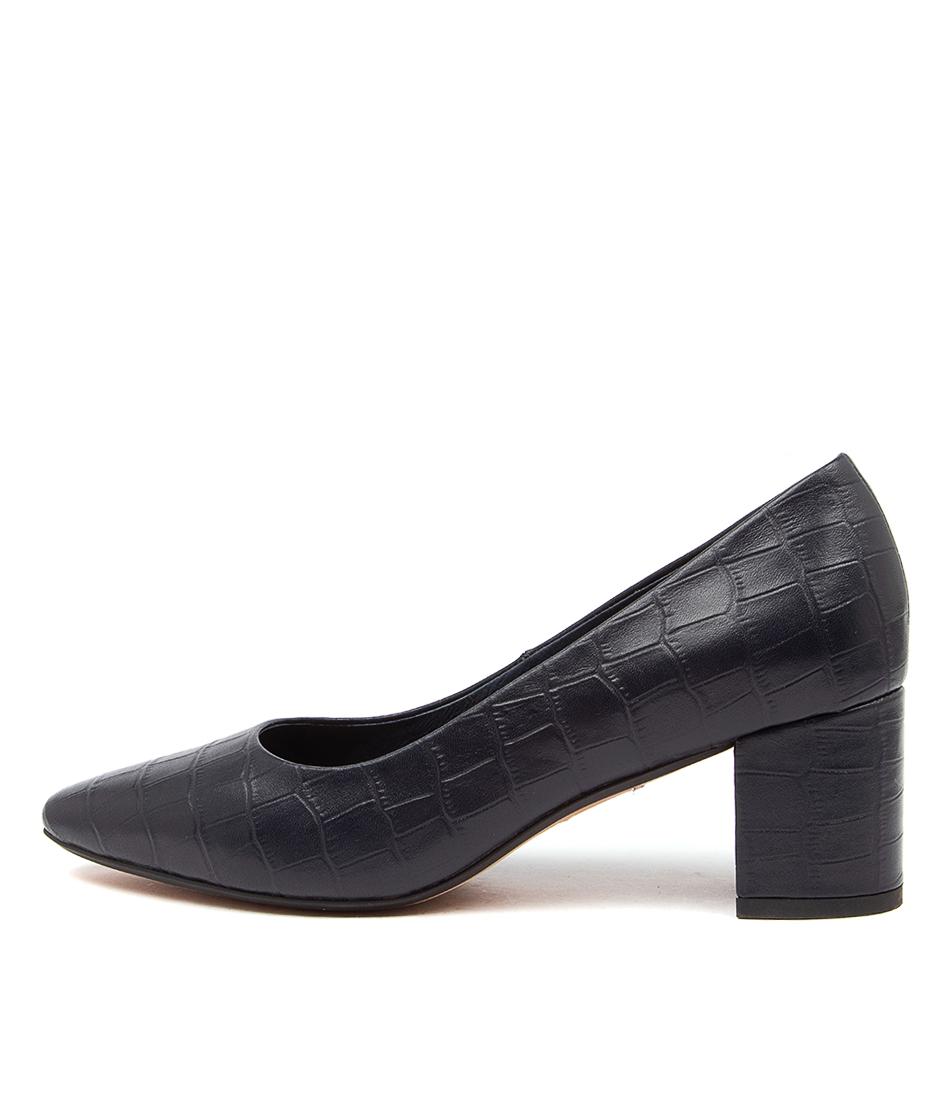 Buy Diana Ferrari Langer Df Navy High Heels online with free shipping