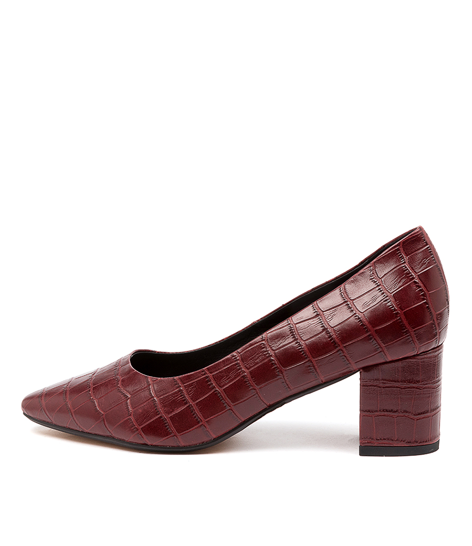 Buy Diana Ferrari Langer Df Wine High Heels online with free shipping