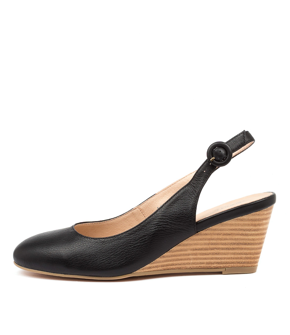 Buy Diana Ferrari Loochi Df Black Natural High Heels online with free shipping