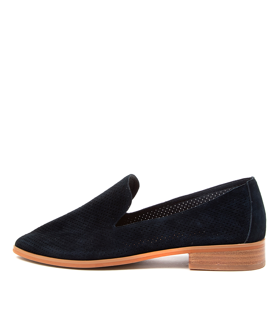 Buy Diana Ferrari Nansie Df Navy Flats online with free shipping