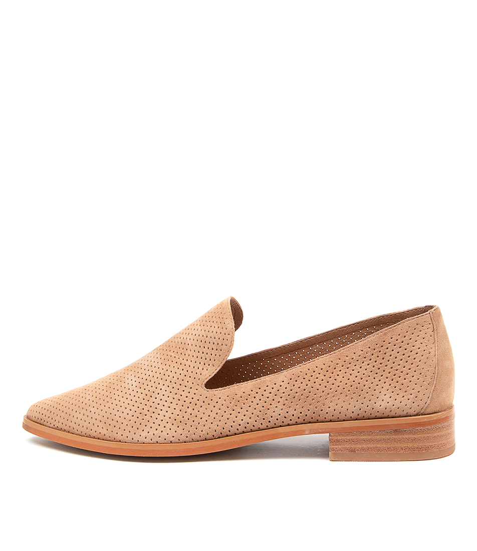 Buy Diana Ferrari Nansie Df Camel Flats online with free shipping