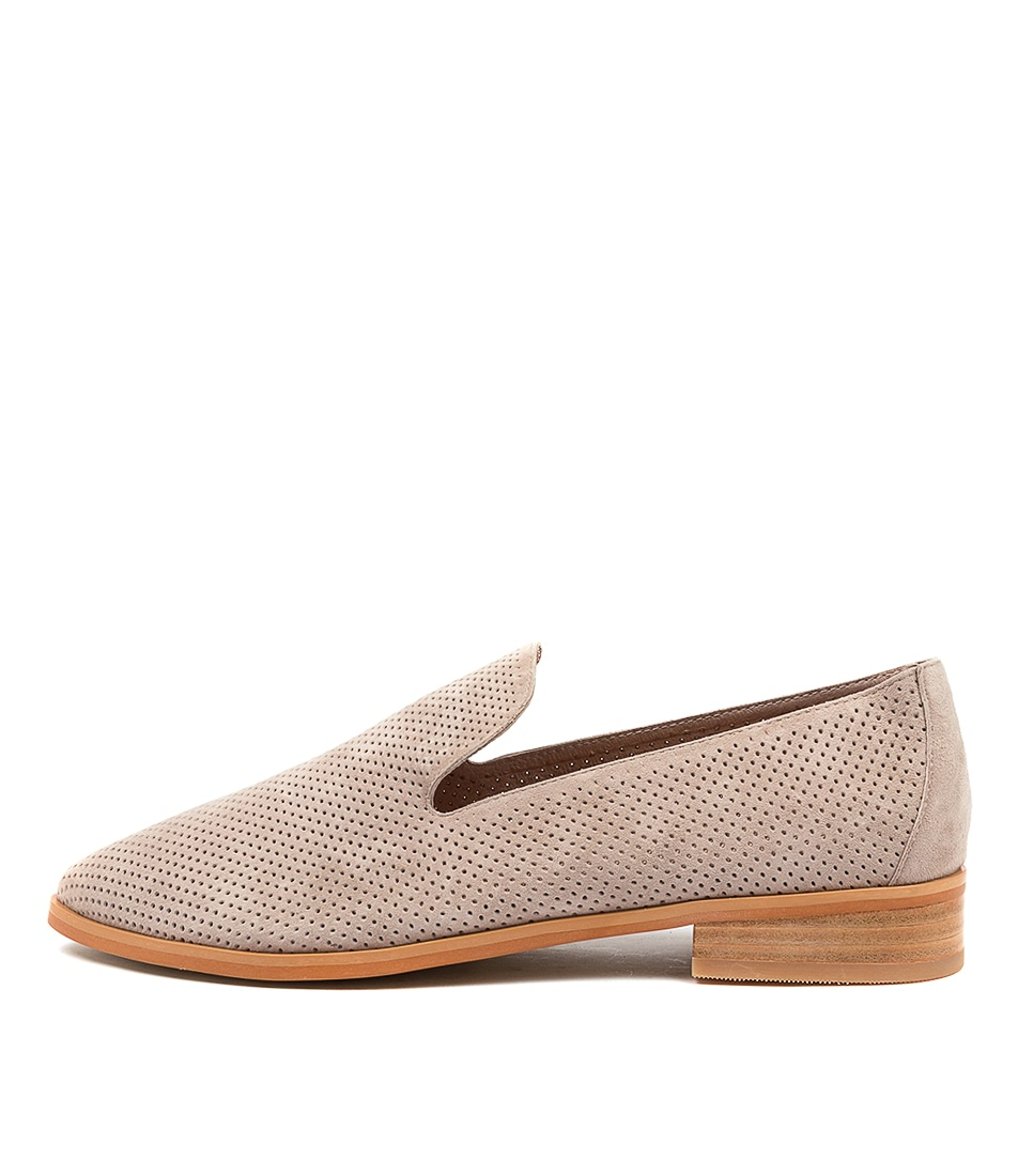 Buy Diana Ferrari Nansie Df Lt Taupe Flats online with free shipping