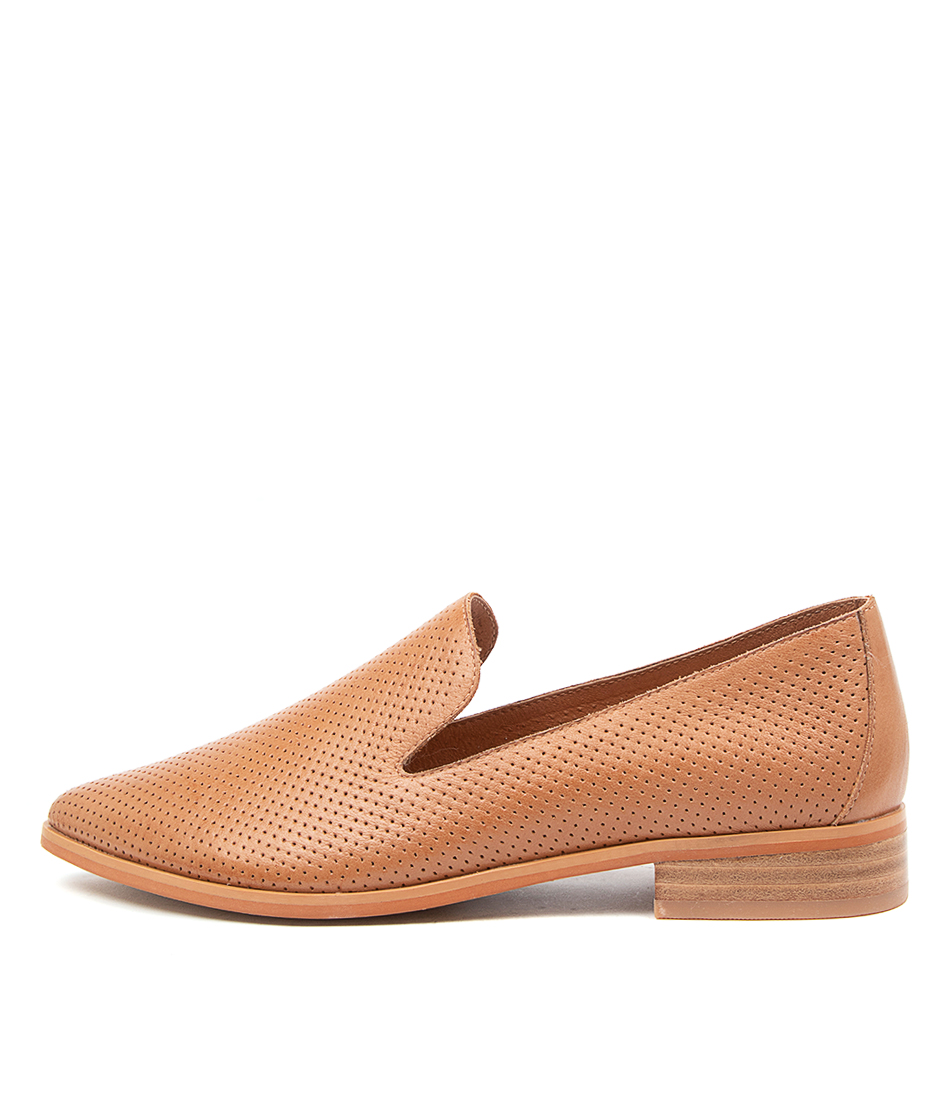 Buy Diana Ferrari Nansie Df Dk Tan Flats online with free shipping