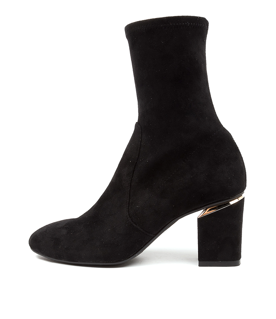 Buy Diana Ferrari Palesha Df Black Ankle Boots online with free shipping