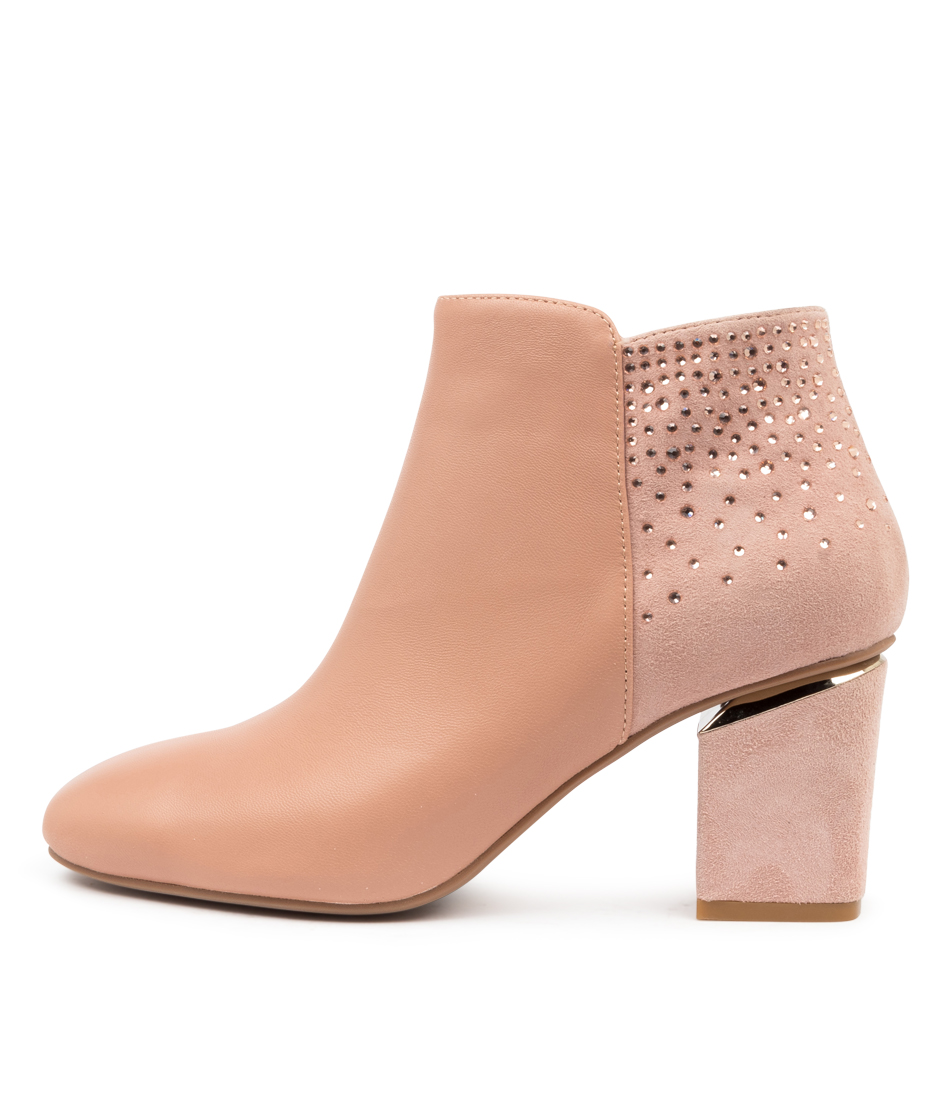 Buy Diana Ferrari Preya Df Blush Dress Ankle Boots online with free shipping