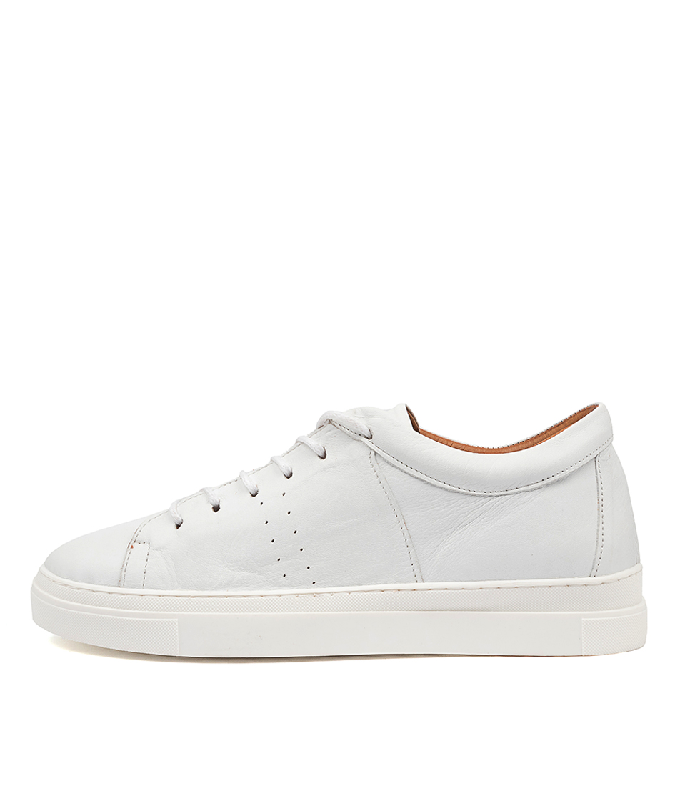 Buy Diana Ferrari Azela Df White White Sneakers online with free shipping