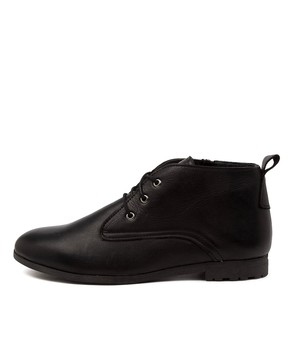 Buy Diana Ferrari Bemsley Df Black Ankle Boots online with free shipping