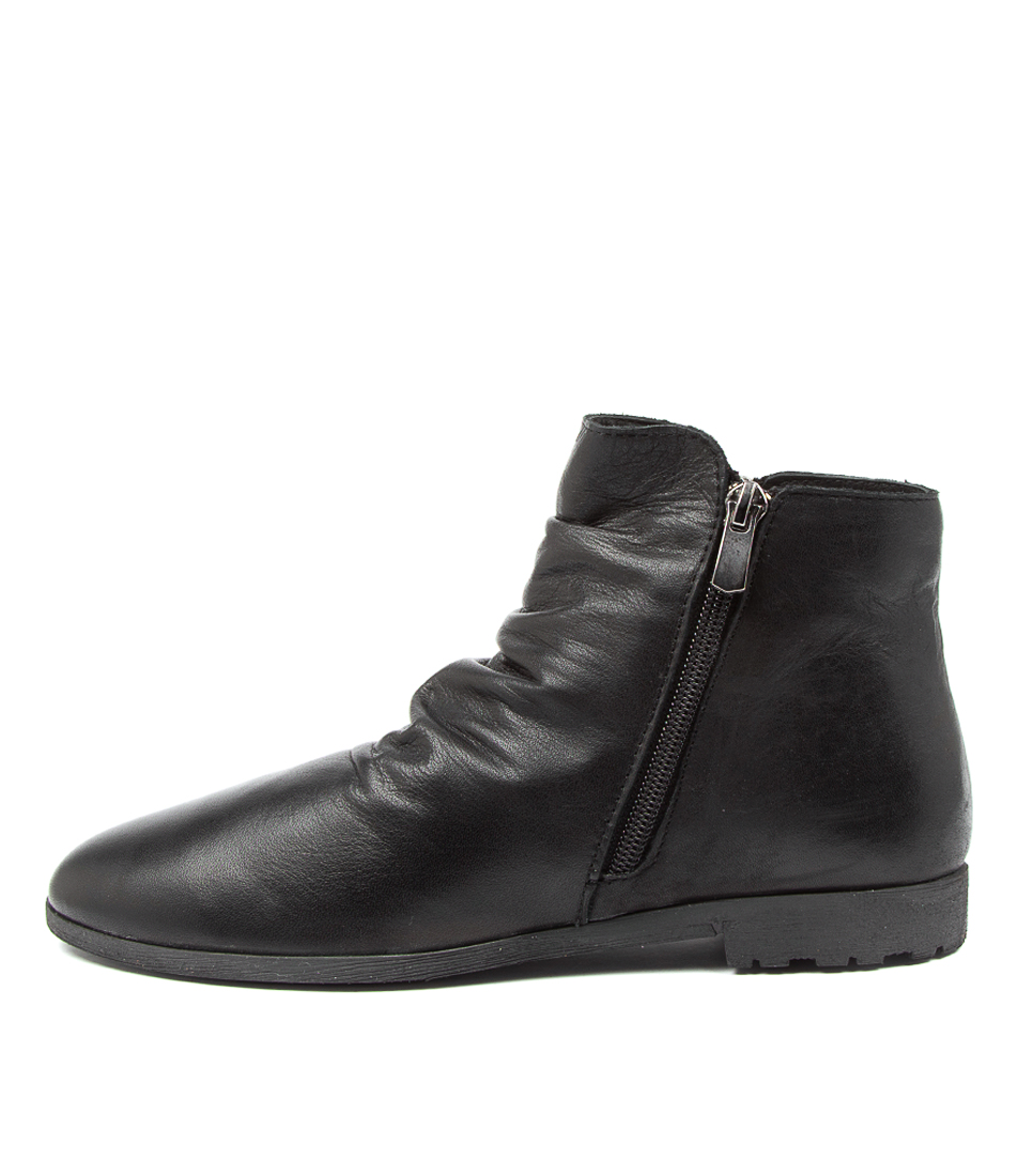 Buy Diana Ferrari Blancche Df Black Ankle Boots online with free shipping