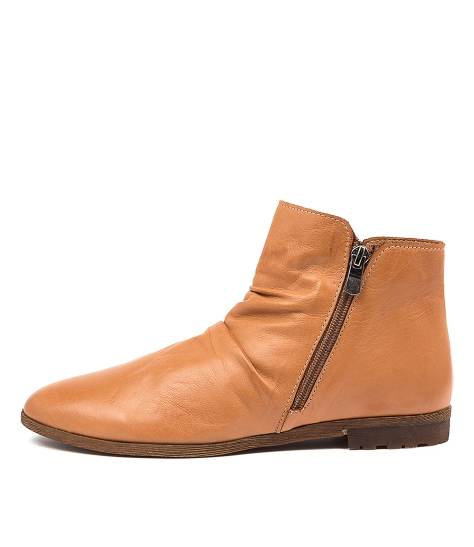 Buy Diana Ferrari Blancche Df Tan Ankle Boots online with free shipping