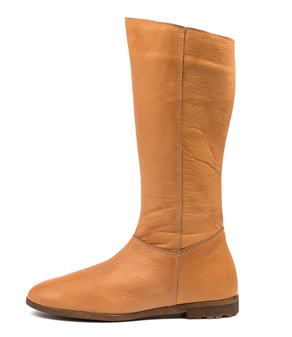 Buy Diana Ferrari Blossum Df Tan Calf Boots online with free shipping