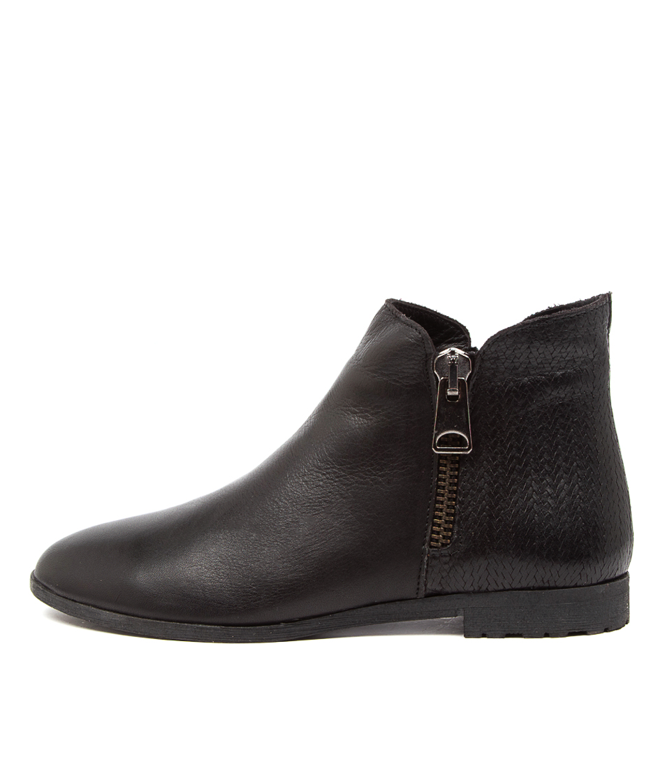 Buy Diana Ferrari Busie Df Black Ankle Boots online with free shipping