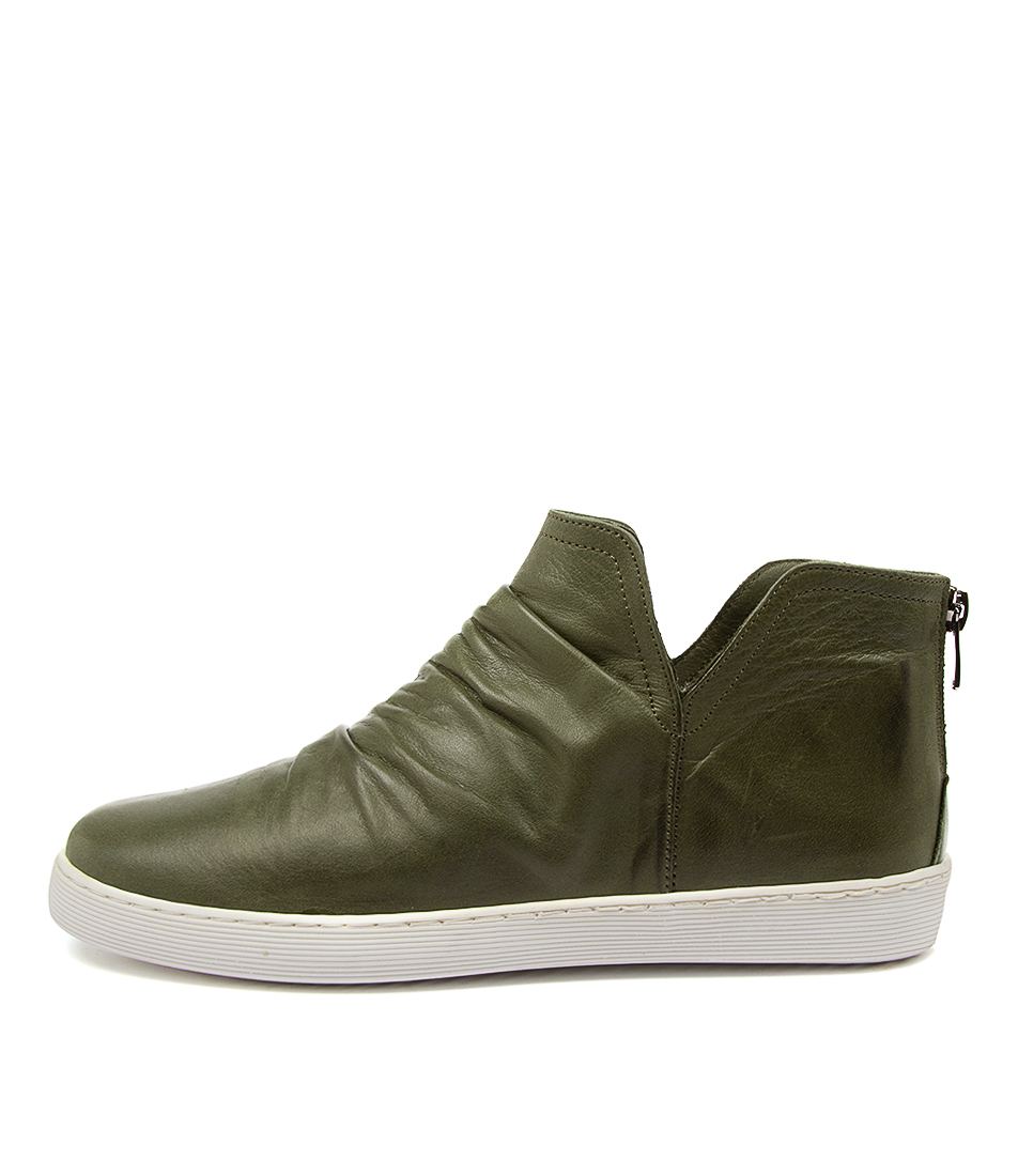 Buy Diana Ferrari Maryie Df Dk Olive Ankle Boots online with free shipping