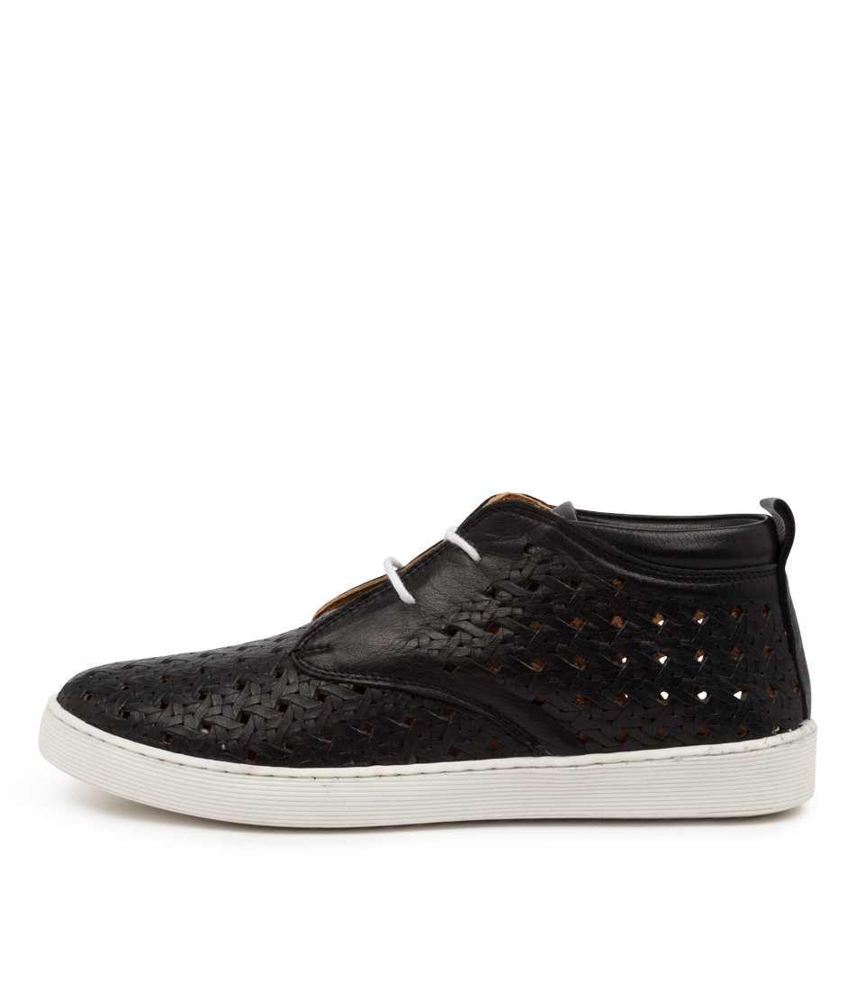 Buy Diana Ferrari Mellone Df Black Sneakers online with free shipping