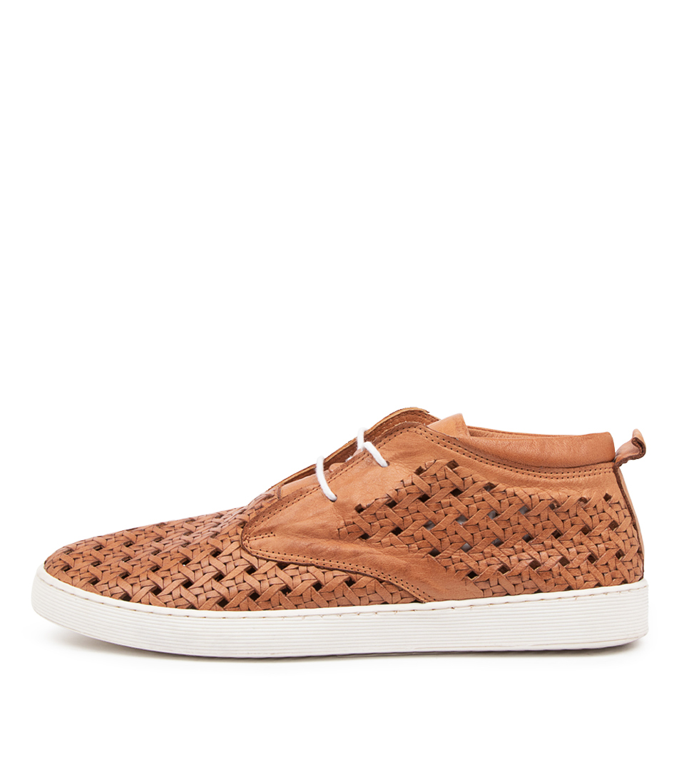 Buy Diana Ferrari Mellone Df Tan Sneakers online with free shipping