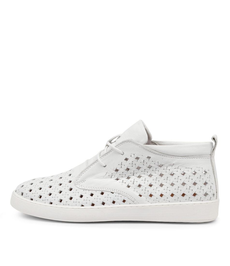 Buy Diana Ferrari Mellone Df White Sneakers online with free shipping