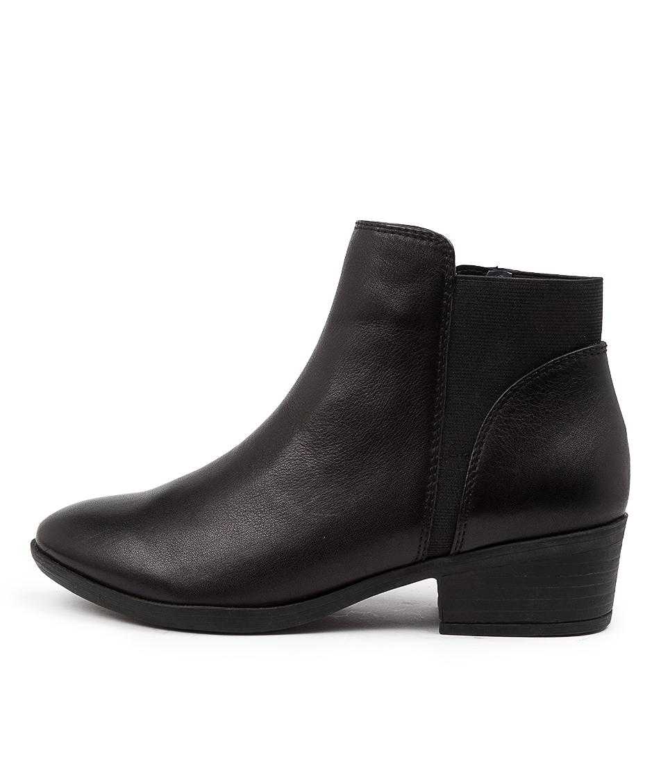 Buy Diana Ferrari Zonney Df Black Ankle Boots online with free shipping