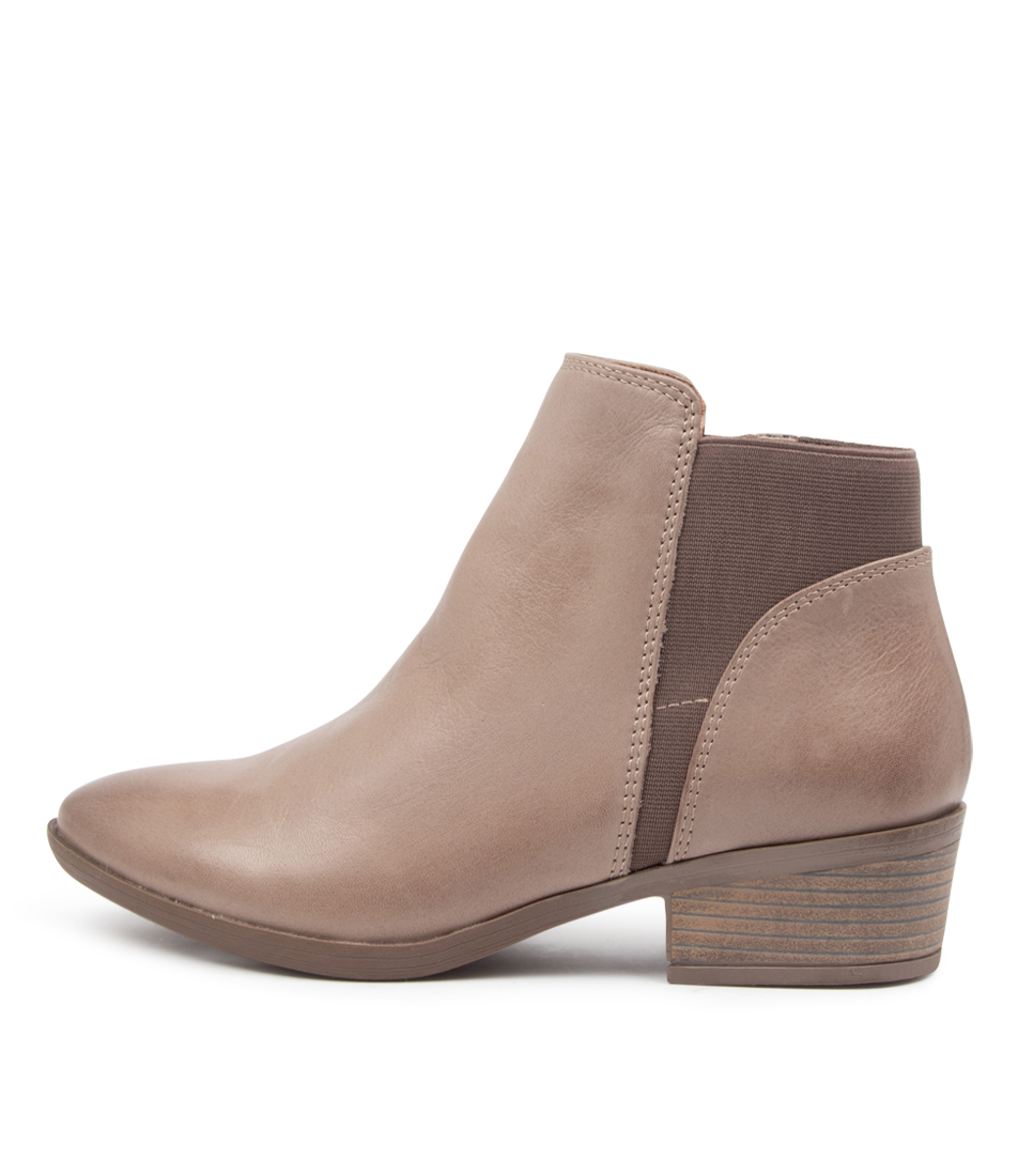 Buy Diana Ferrari Zonney Df Dk Stone Ankle Boots online with free shipping