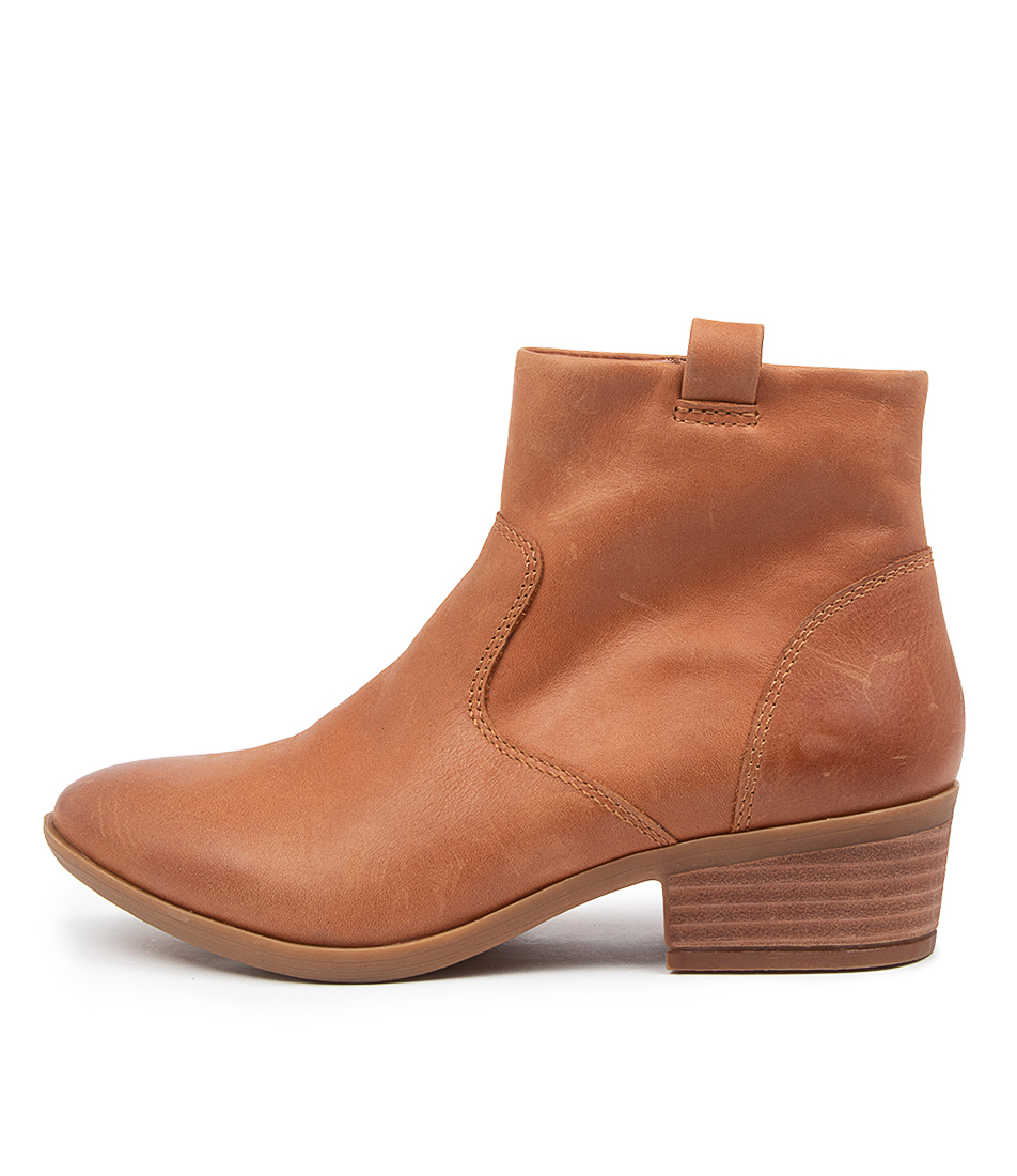 Buy Diana Ferrari Zoplan Df Tan Ankle Boots online with free shipping