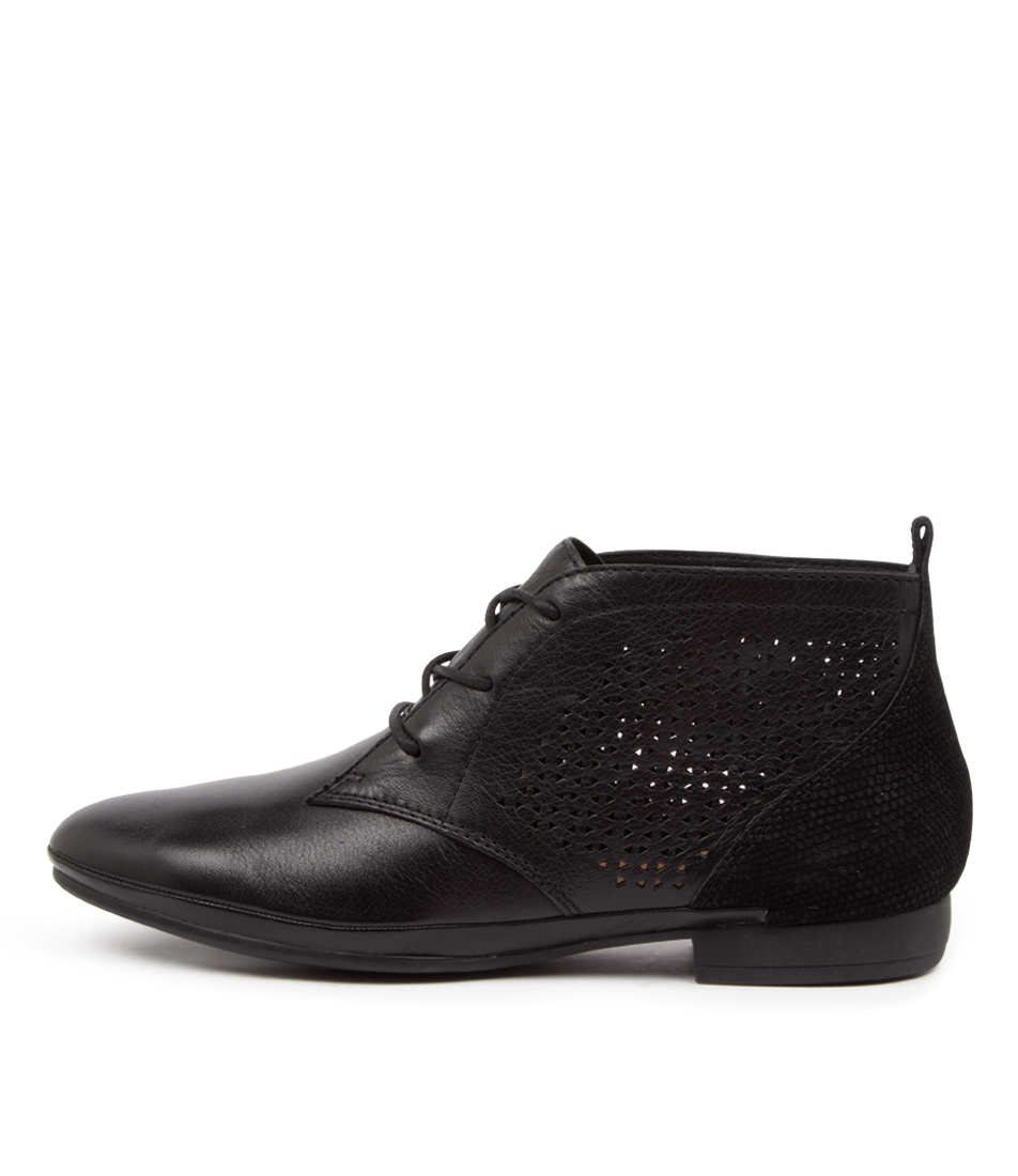 Buy Diana Ferrari Oliee Df Black Ankle Boots online with free shipping