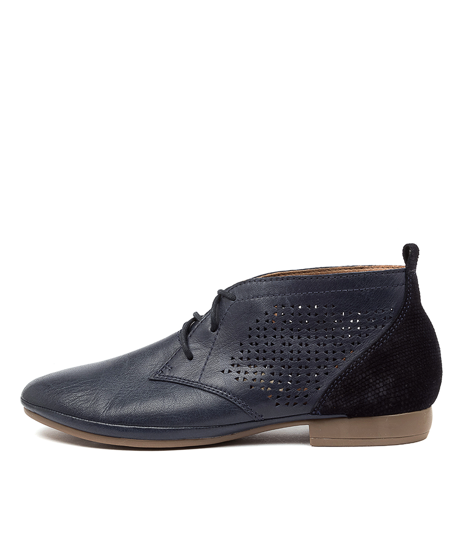 Buy Diana Ferrari Oliee Df Navy Ankle Boots online with free shipping