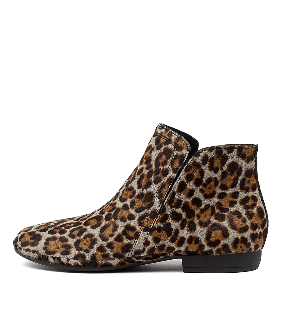 Buy Diana Ferrari Ollaie Df Grey Leopard Ankle Boots online with free shipping