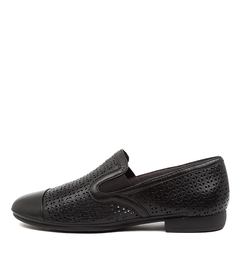 Buy Diana Ferrari Omollie Df Black Flats online with free shipping
