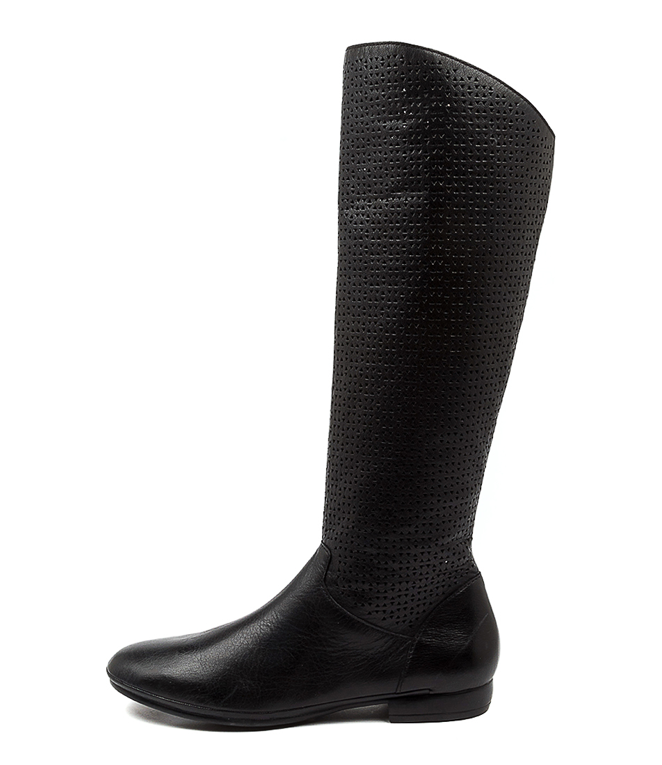 Buy Diana Ferrari Onolena Df Black Long Boots online with free shipping